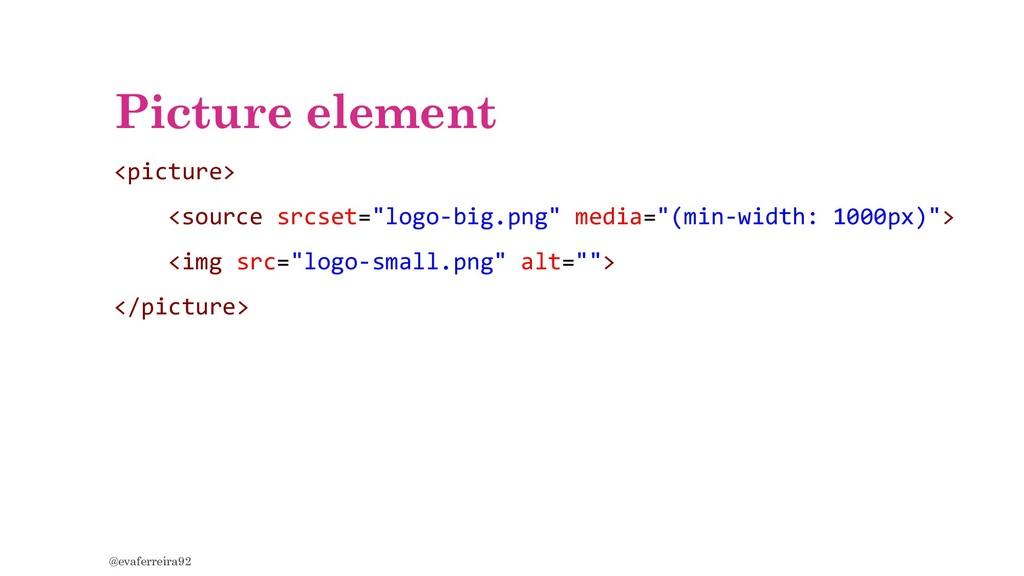 "Picture element <picture> <source srcset=""logo-..."