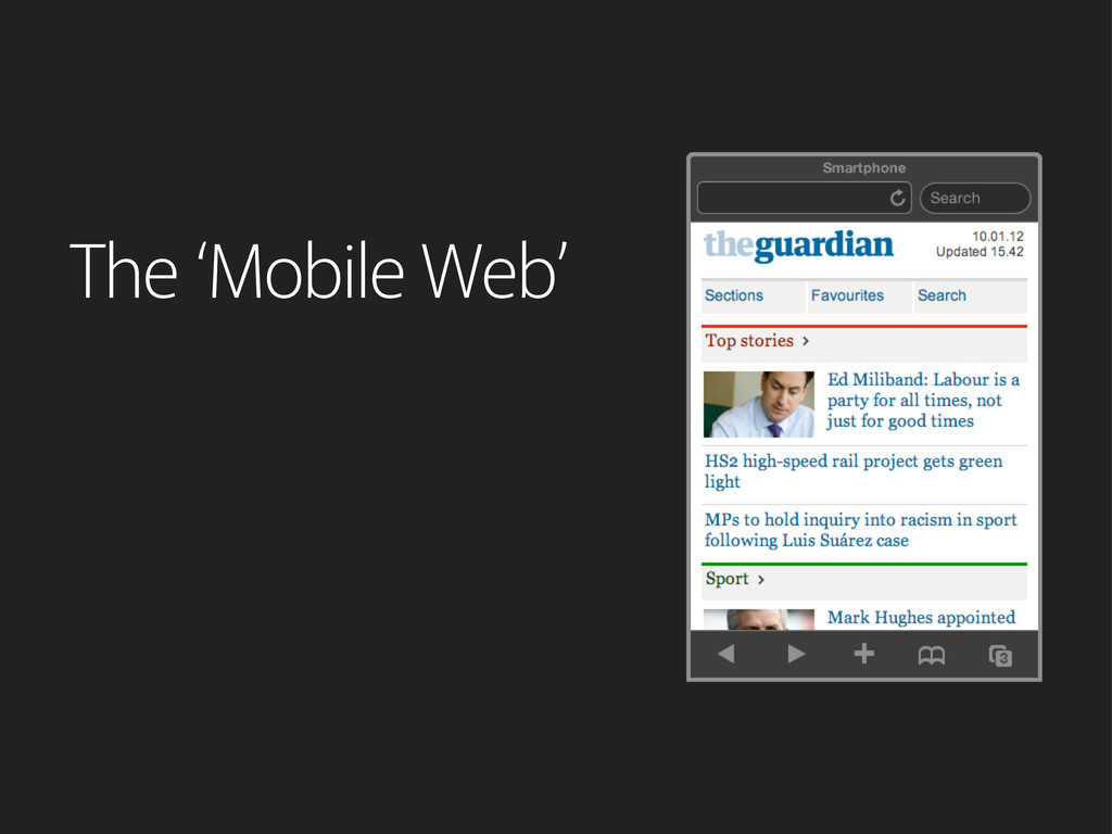 The 'Mobile Web'