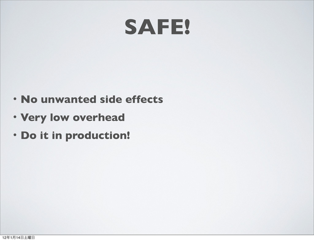 SAFE! ɾNo unwanted side effects ɾVery low overh...