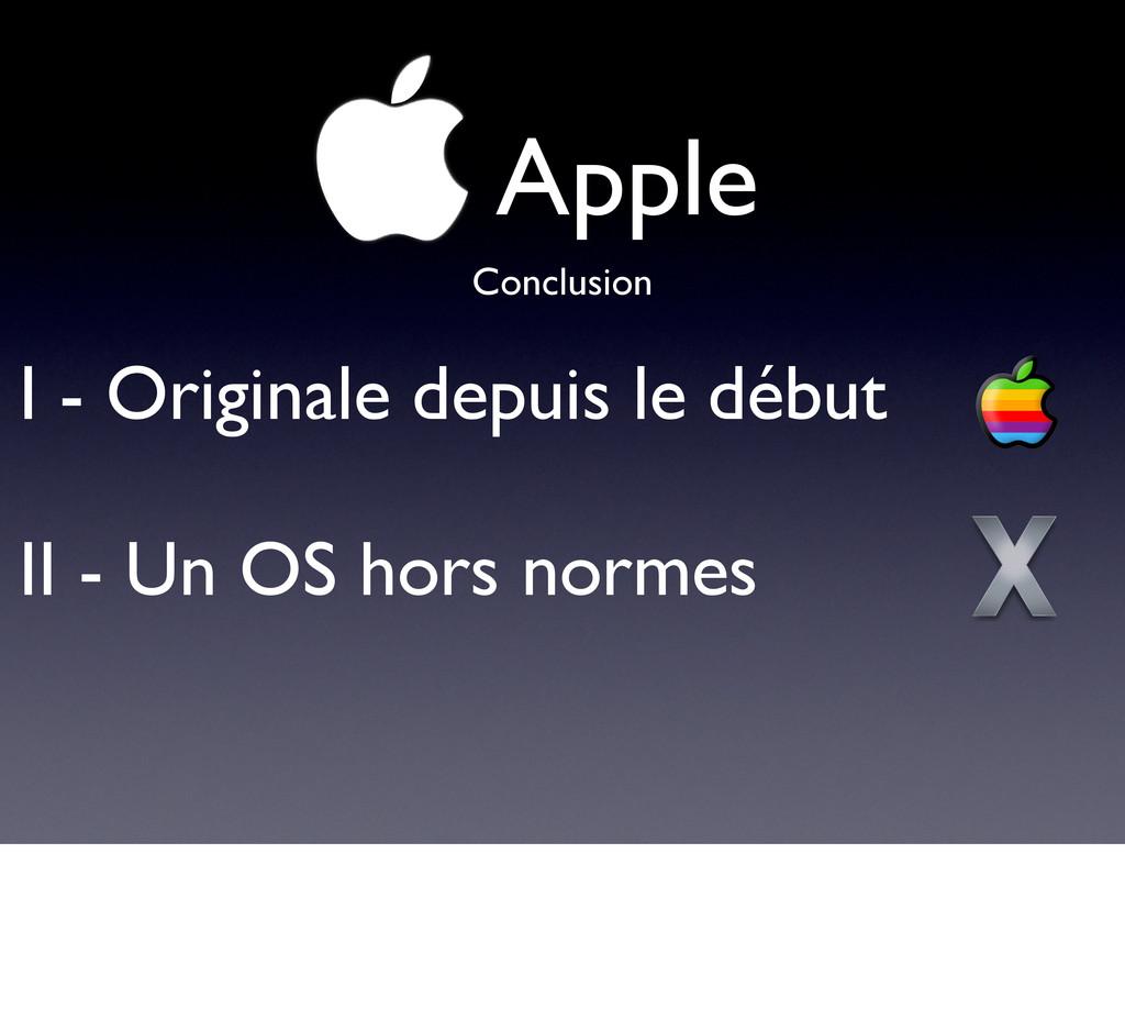 !Apple I - Originale depuis le début II - Un OS...