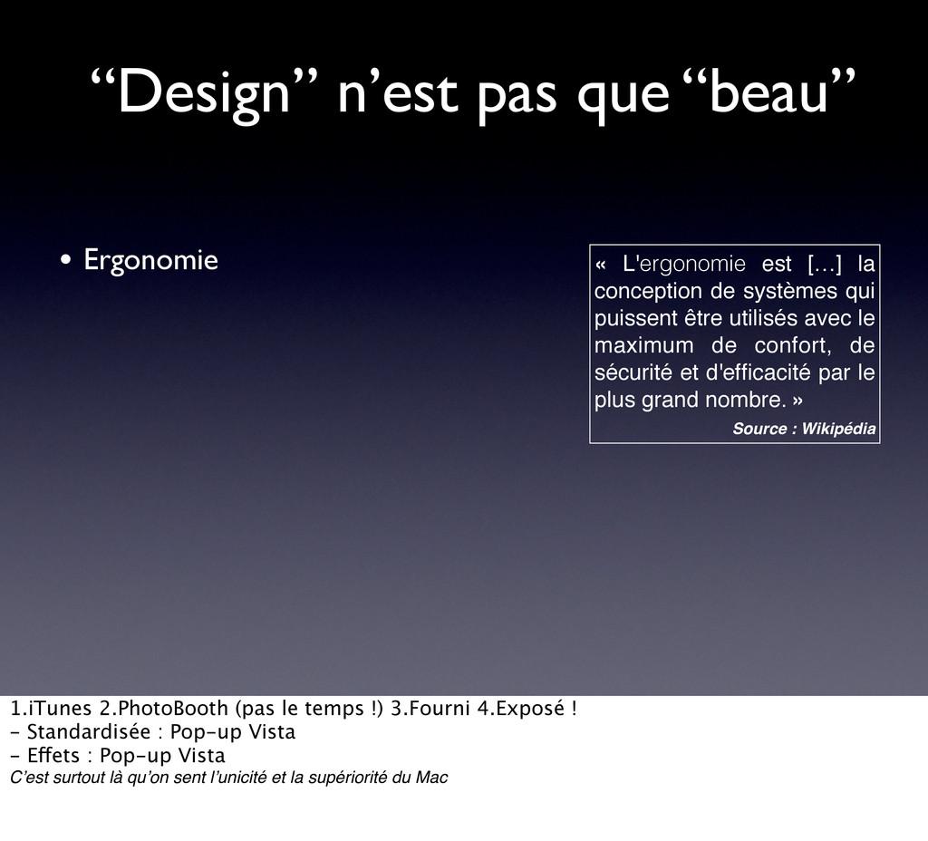 """""""Design"""" n'est pas que """"beau"""" • Ergonomie « L'e..."""
