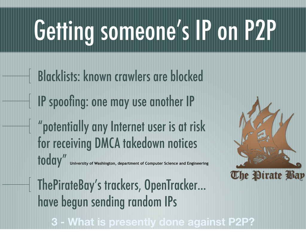 Getting someone's IP on P2P 3 - What is present...