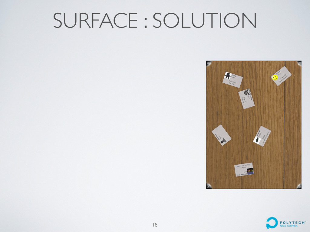 SURFACE : SOLUTION 18