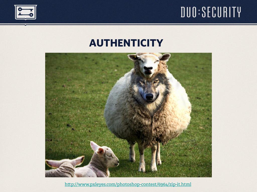 AUTHENTICITY h p://www.pxleyes.com/photoshop-co...