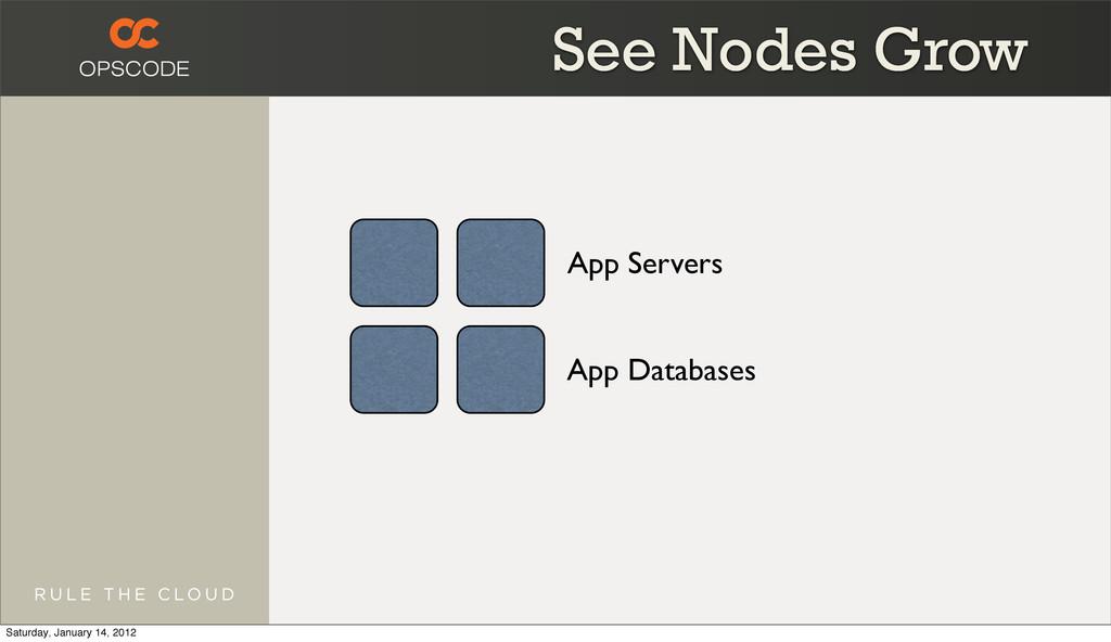 App Servers App Databases See Nodes Grow Saturd...