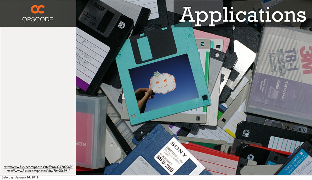 Applications http://www.flickr.com/photos/steffe...