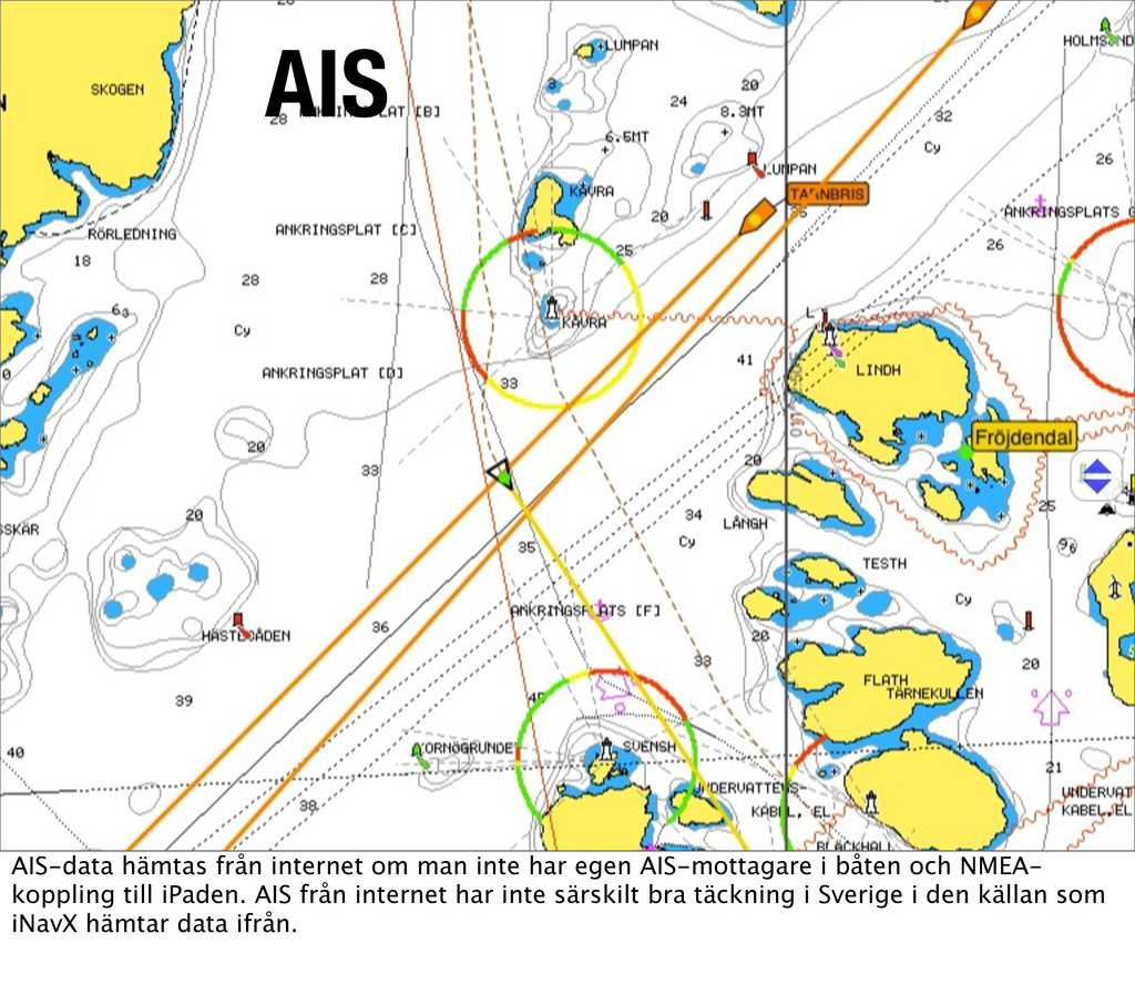 AIS AIS AIS-data hämtas från internet om man in...