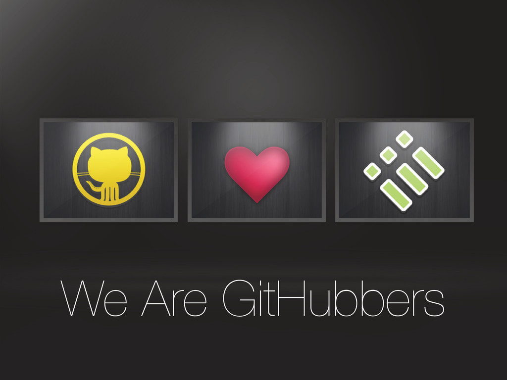 We Are GitHubbers