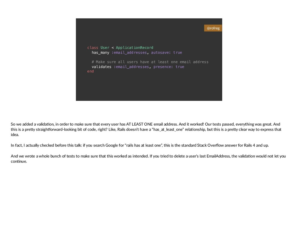 class User < ApplicationRecord has_many :email_...