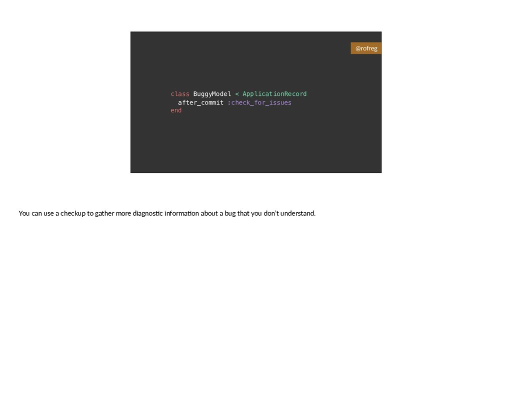 class BuggyModel < ApplicationRecord after_comm...