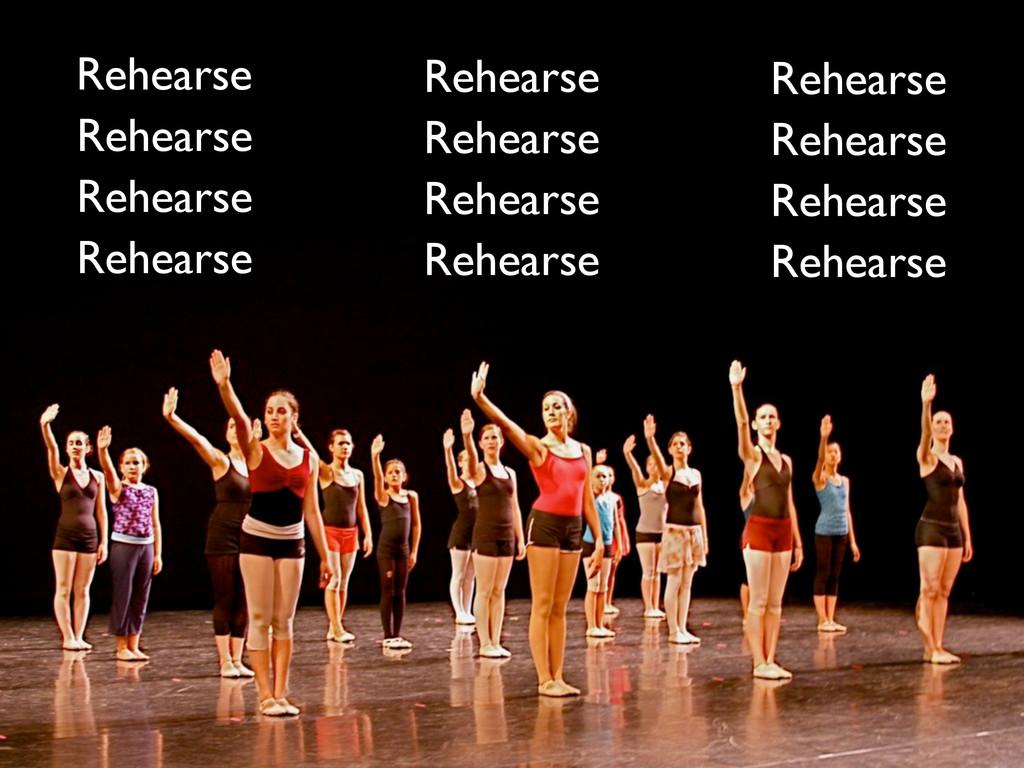 Rehearse Rehearse Rehearse Rehearse Rehearse Re...