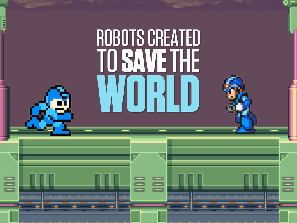 ROBOTS CREATED TO SAVE THE WORLD