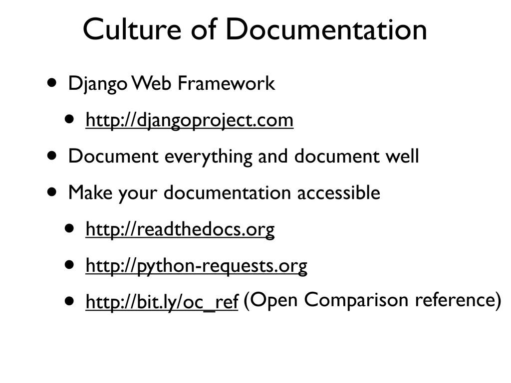 • Django Web Framework • http://djangoproject.c...