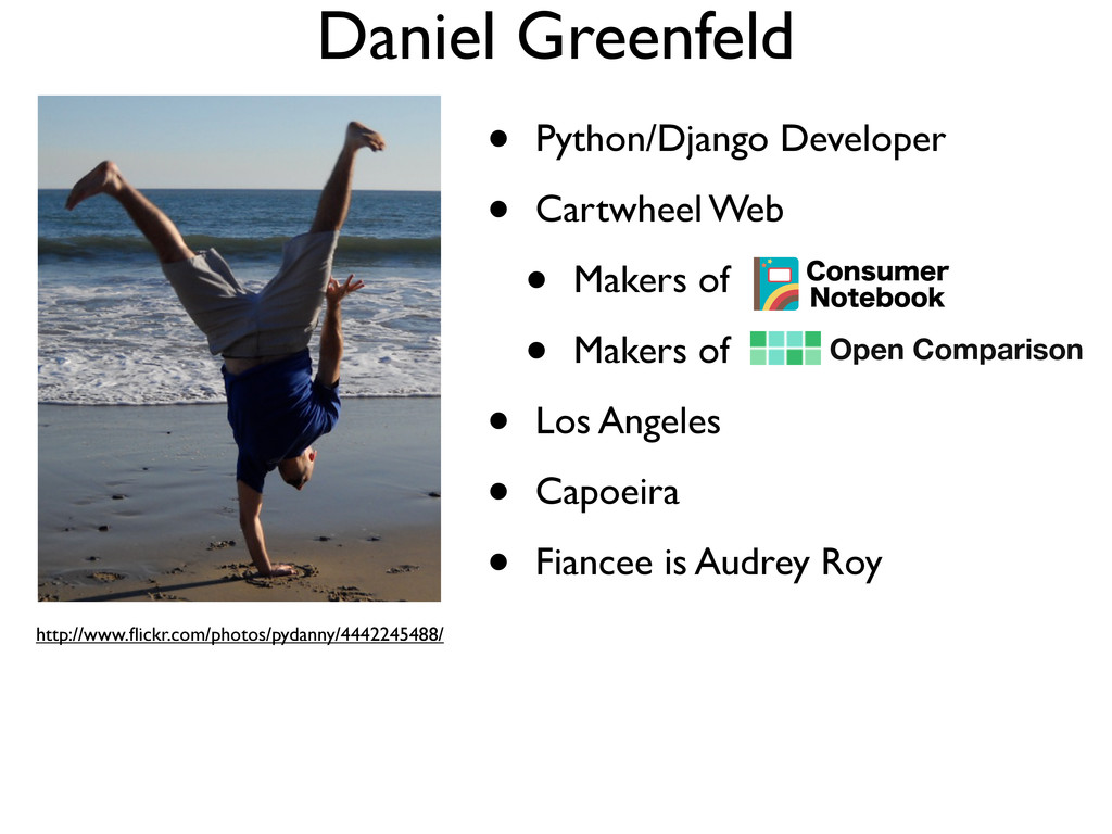 Daniel Greenfeld • Python/Django Developer • Ca...