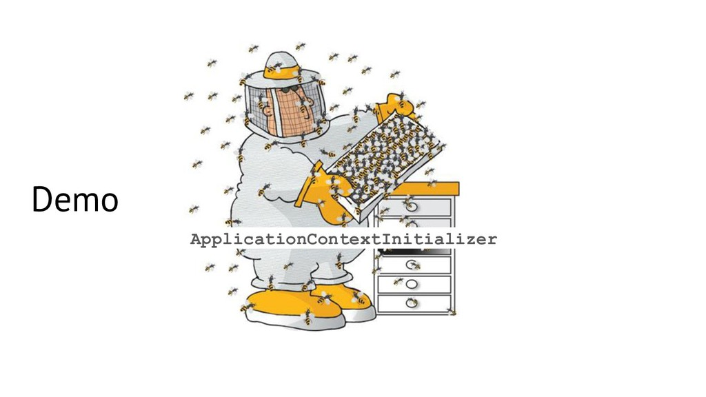 Demo ApplicationContextInitializer