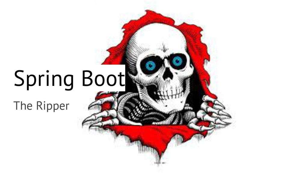 Spring Boot The Ripper