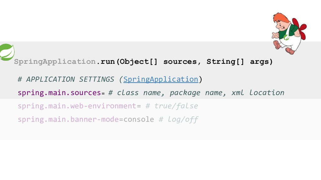 SpringApplication.run(Object[] sources, String[...