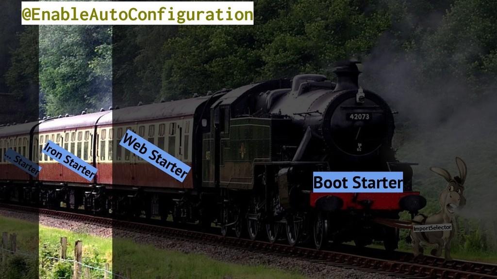 ImportSelector Iron Starter Boot Starter … Star...