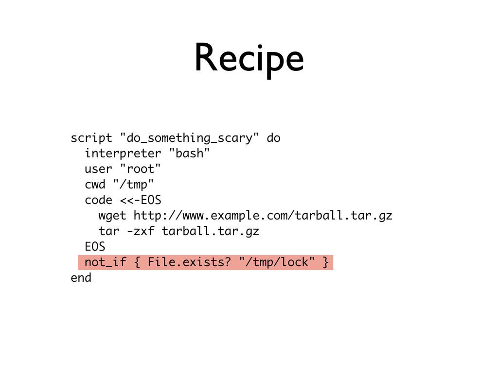 """script """"do_something_scary"""" do interpreter """"bas..."""