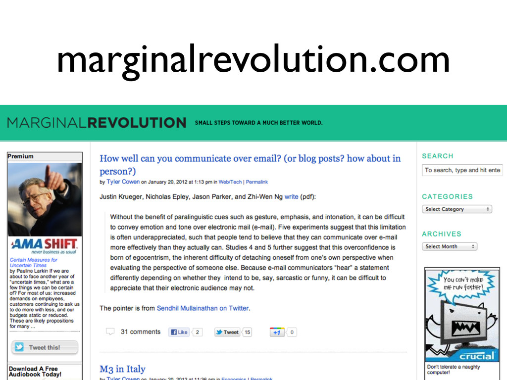 marginalrevolution.com