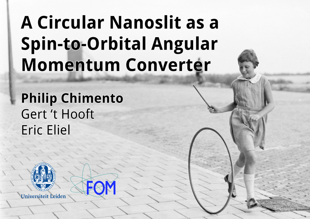 A Circular Nanoslit as a Spin-to-Orbital Angula...