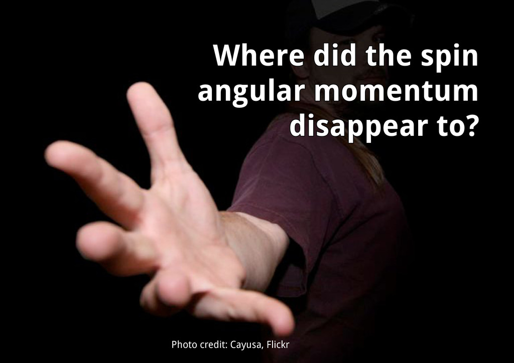 Photo credit: Cayusa, Flickr Where did the spin...