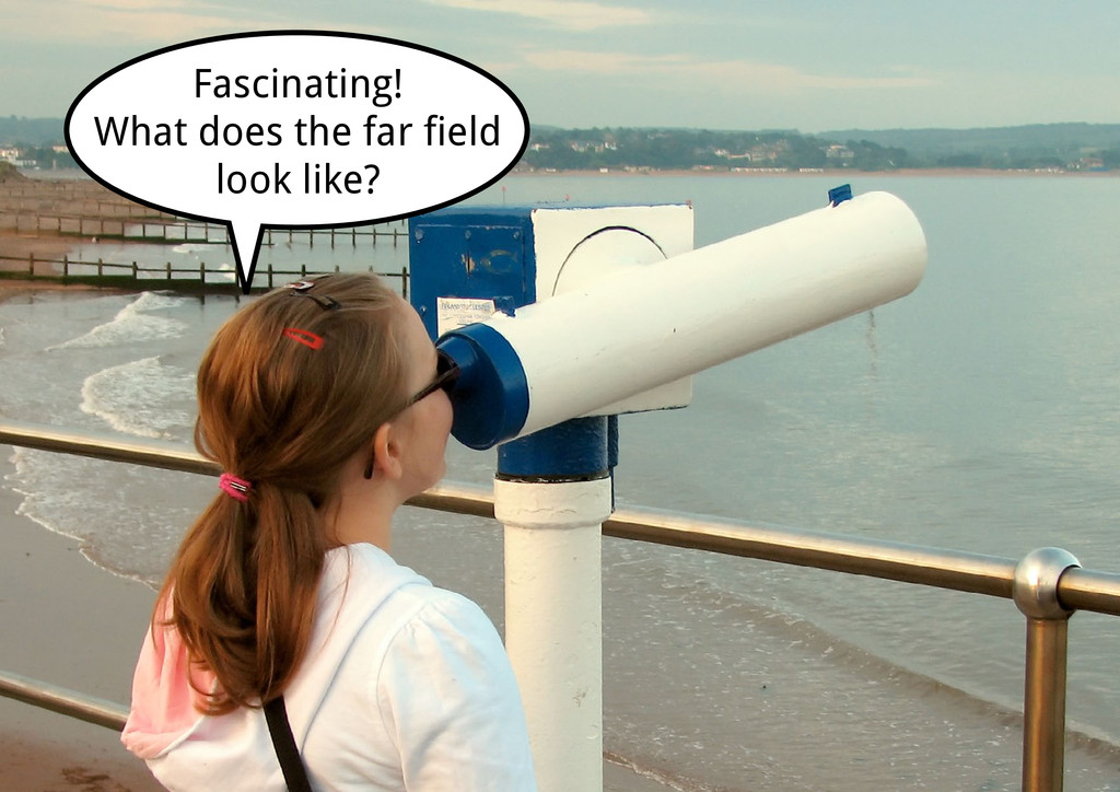 Fascinating! What does the far field look like?