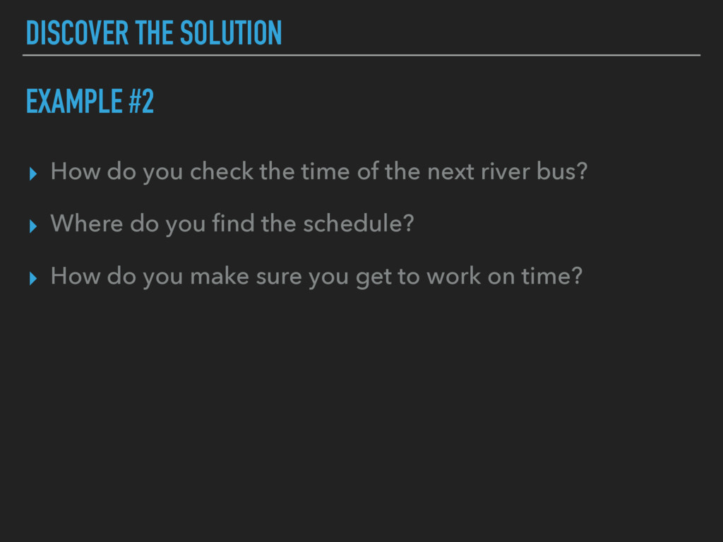 ▸ How do you check the time of the next river b...