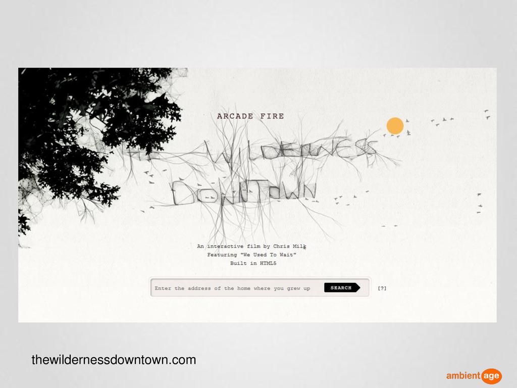 thewildernessdowntown.com