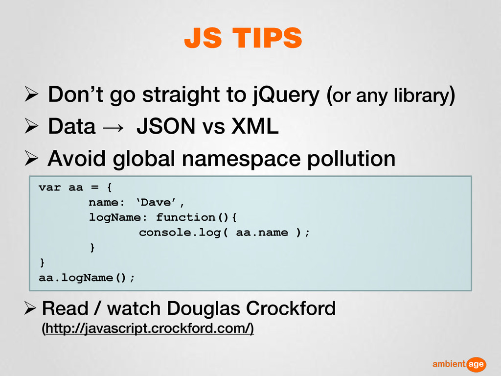  Don't go straight to jQuery (or any library) ...