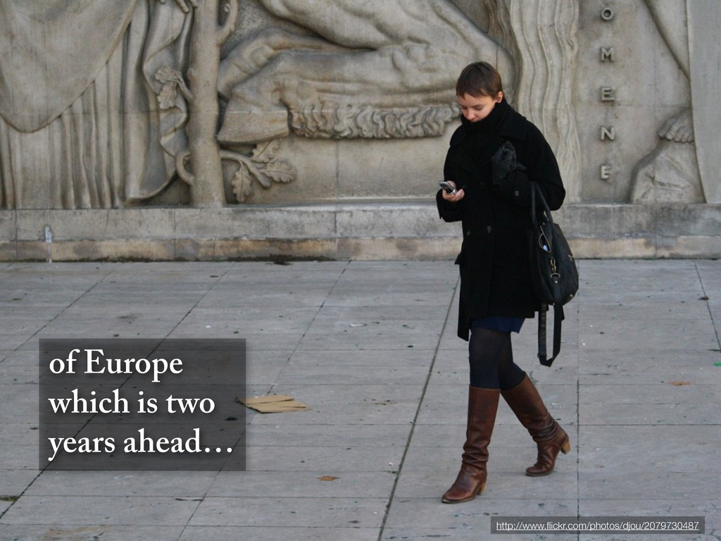of Europe which is two years ahead… http://www....