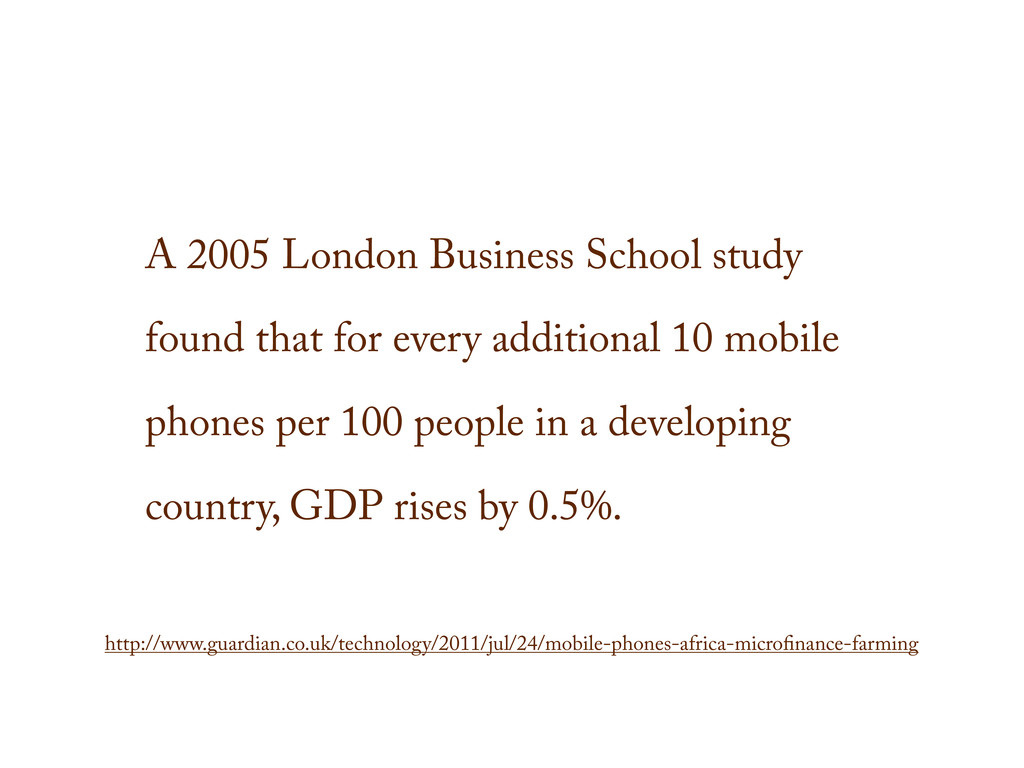 A 2005 London Business School study found that ...