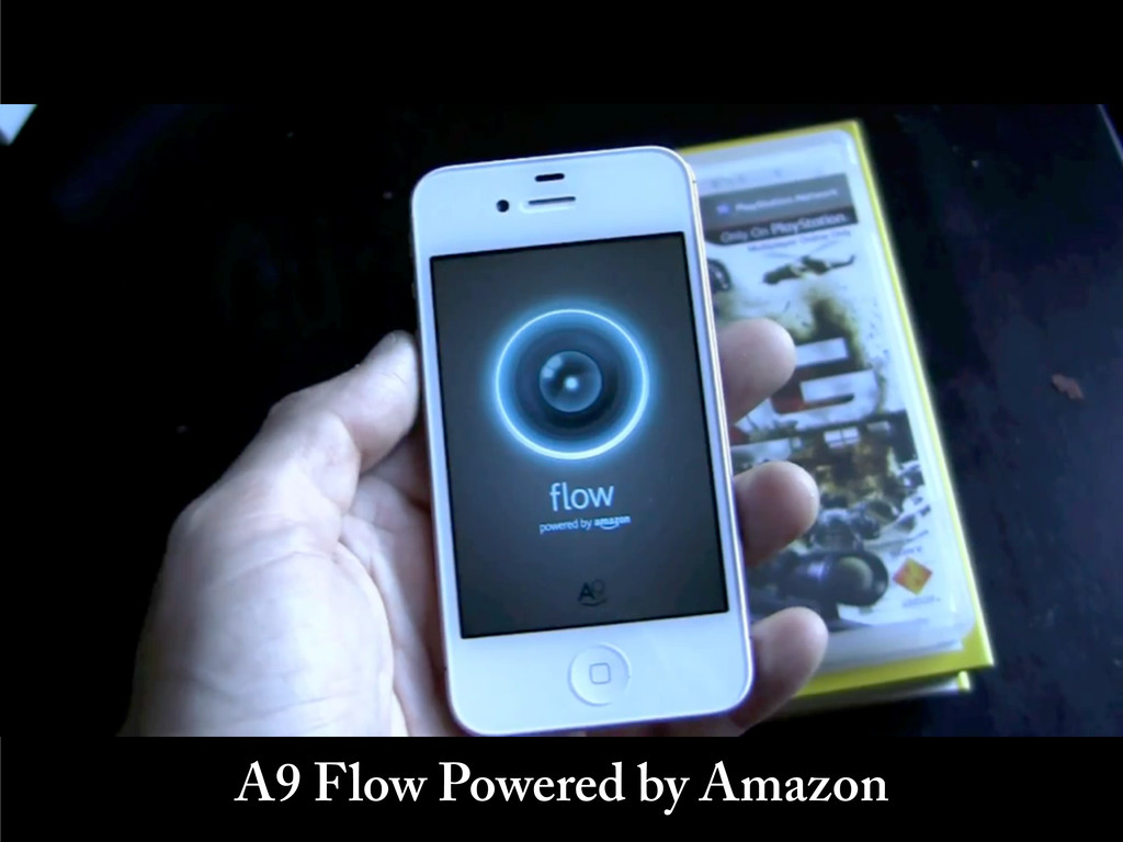 A9 Flow Powered by Amazon
