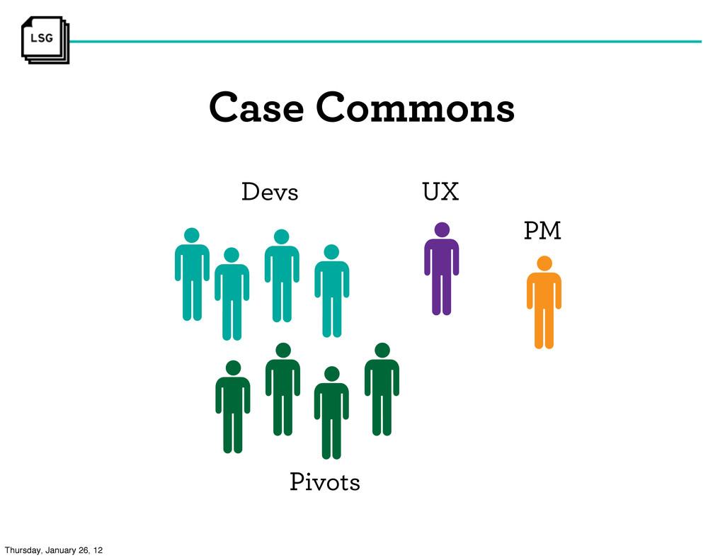 Case Commons Devs UX PM Pivots Thursday, Januar...