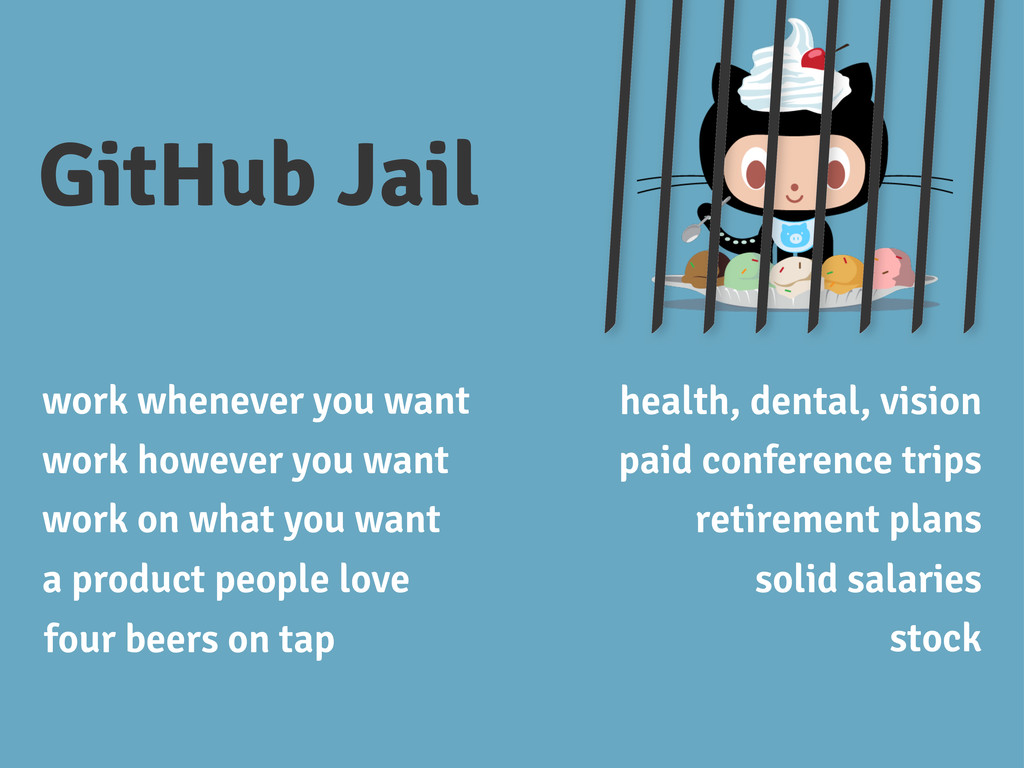 GitHub Jail work whenever you want work however...