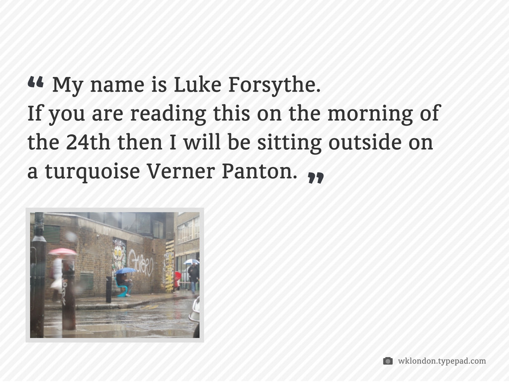 My name is Luke Forsythe. If you are reading th...