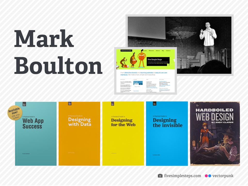 vectorpunk Mark Boulton fivesimplesteps.com