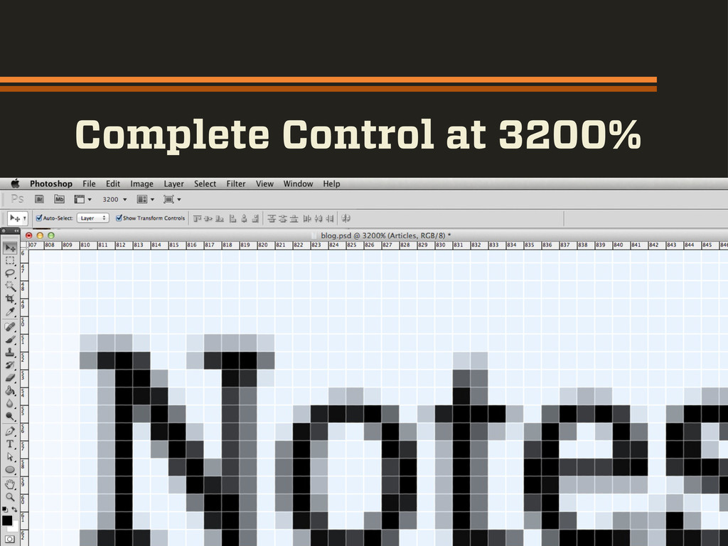 Complete Control at 3200%