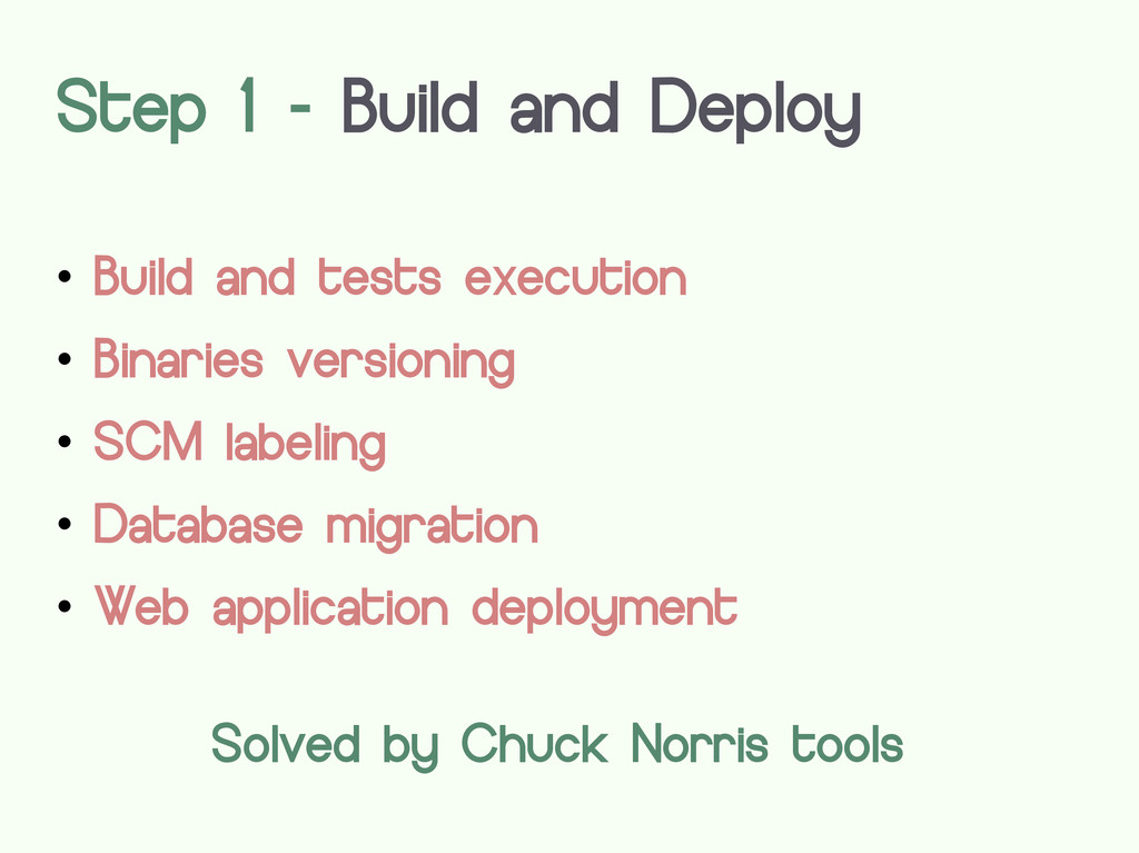  Build and tests execution  Binaries versioni...