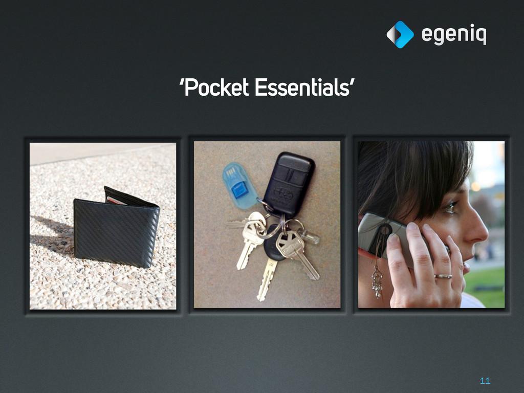 'Pocket Essentials' 11