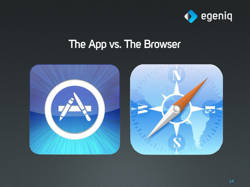 The App vs. The Browser 14