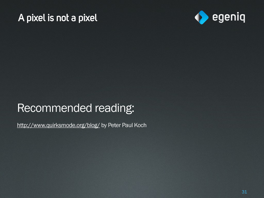 A pixel is not a pixel Recommended reading: htt...
