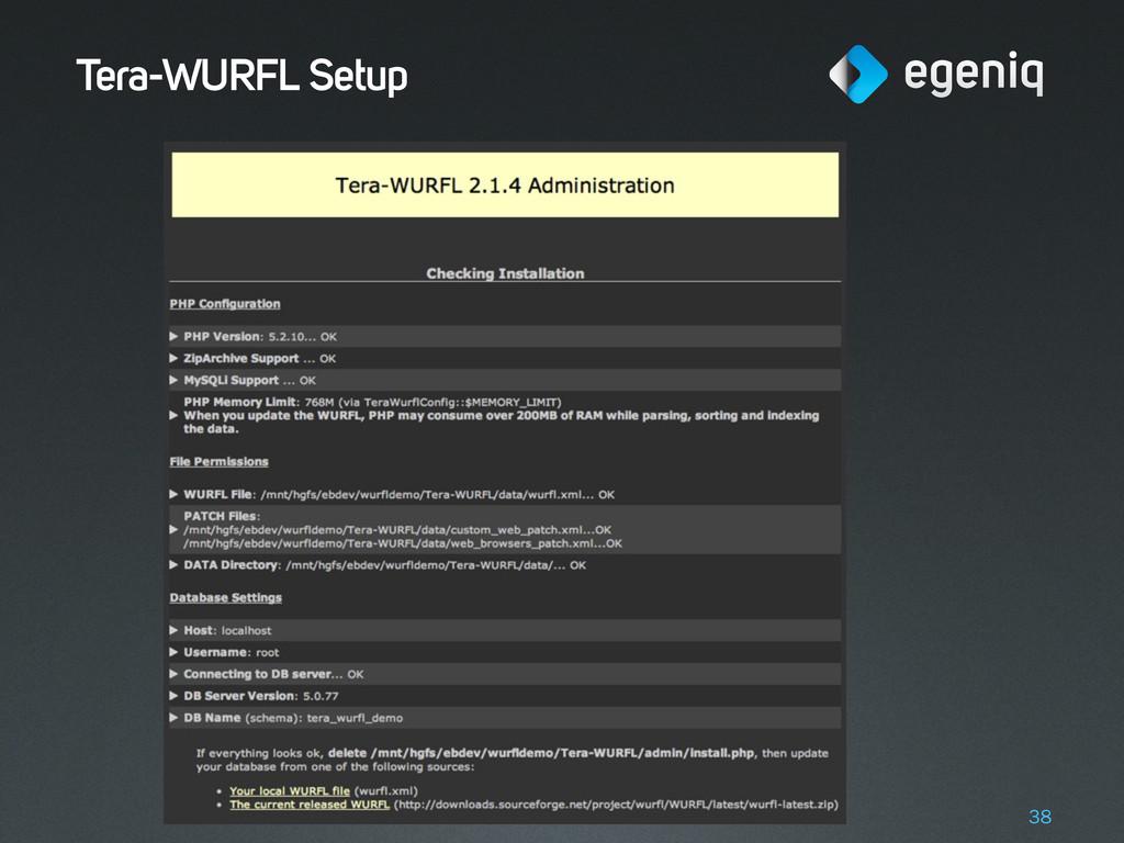 Tera-WURFL Setup 38