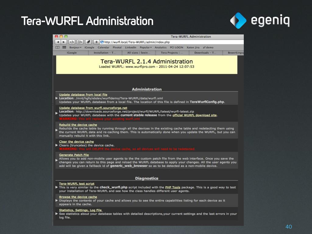 Tera-WURFL Administration 40
