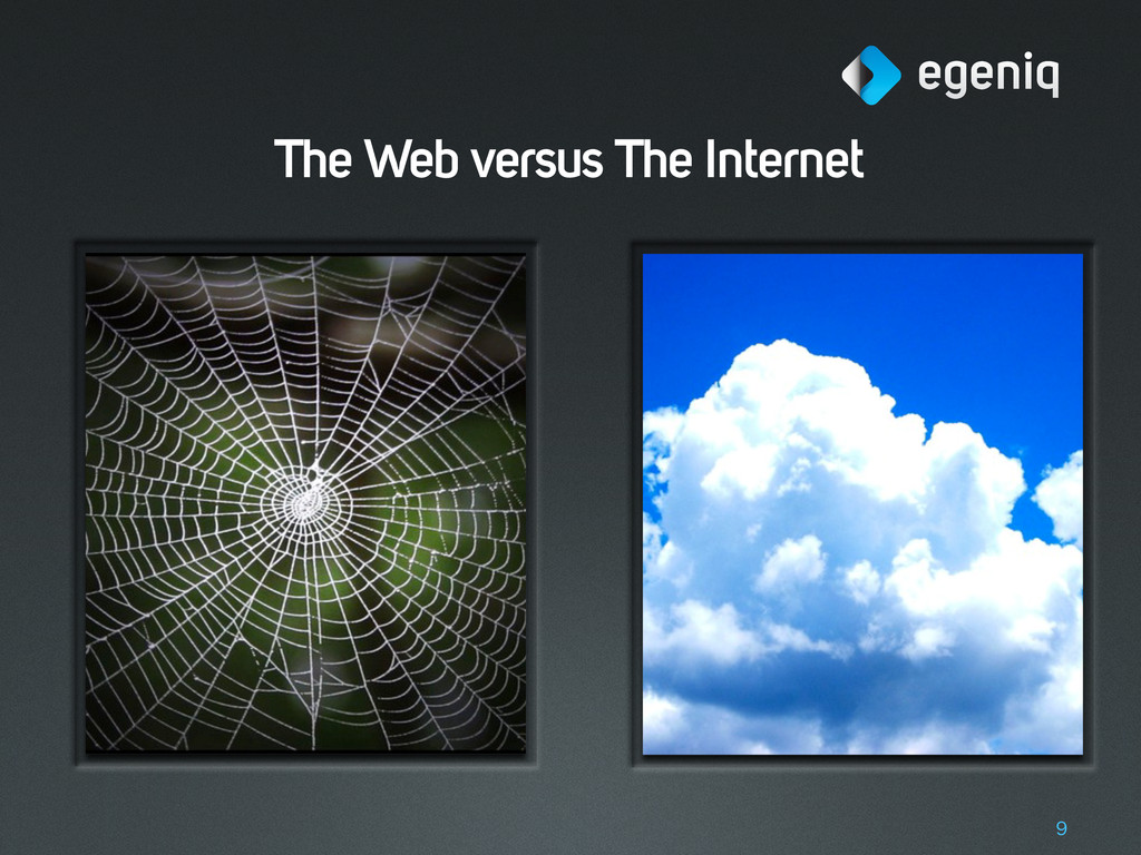 The Web versus The Internet 9