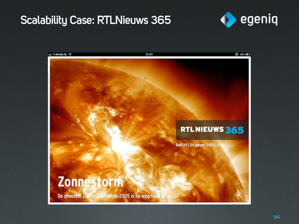 Scalability Case: RTLNieuws 365 94