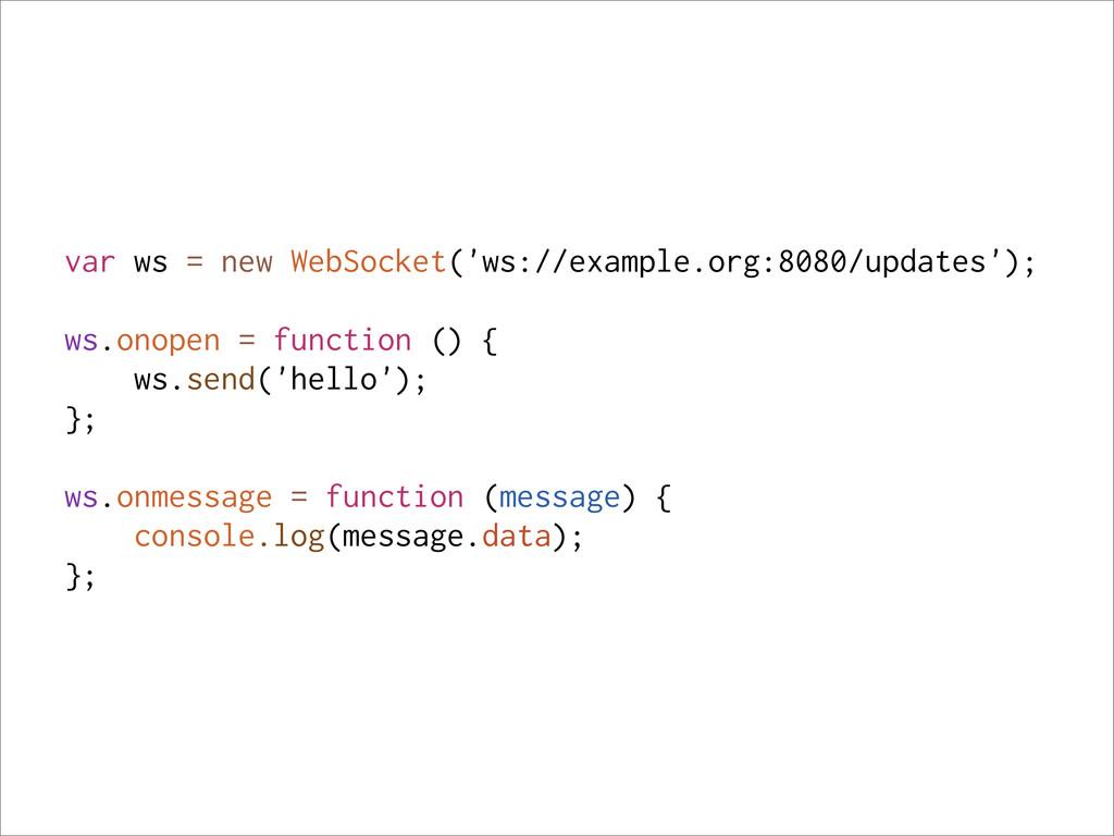 var ws = new WebSocket('ws://example.org:8080/u...