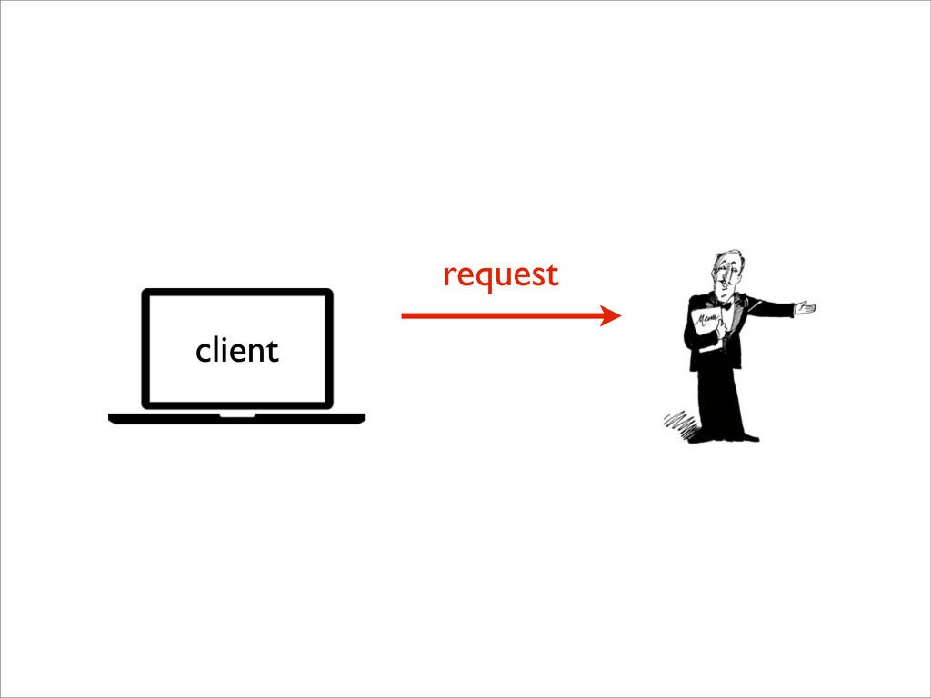 request client