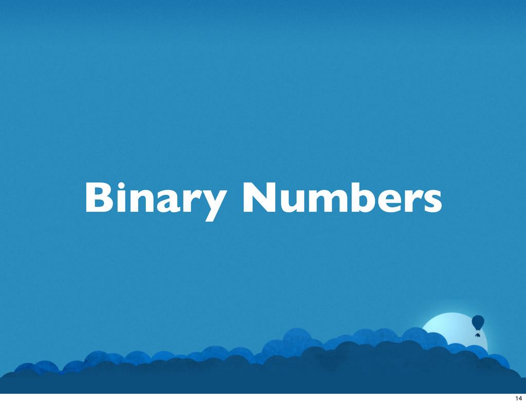 Binary Numbers 14