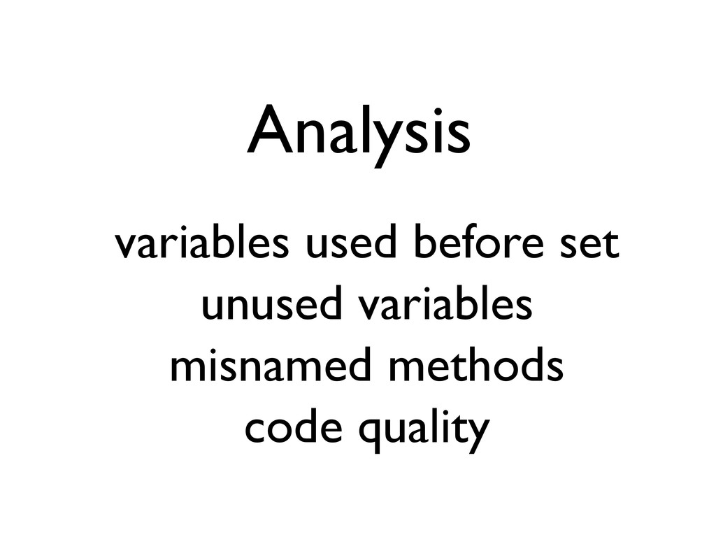 Analysis variables used before set unused varia...